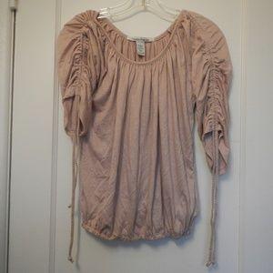 Light pink American Rag short sleeve tunic